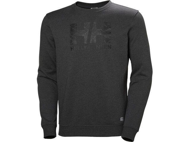Helly Hansen F2F Sweat en coton Homme, ebony